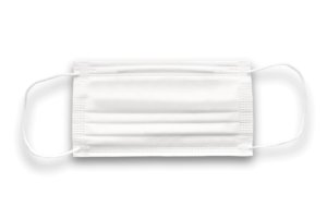 Surgical mask or medical mask type II and type I
