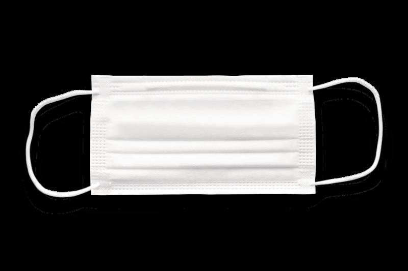 Surgical mask or medical mask white color